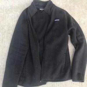 Patagonia fleece/sweater zip-up